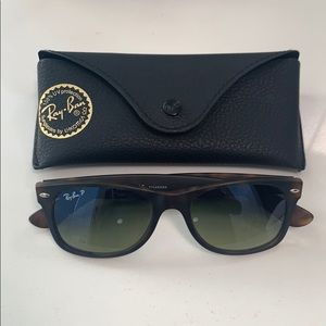New Wayfarer Polarized Ray-Ban Sunglasses.
